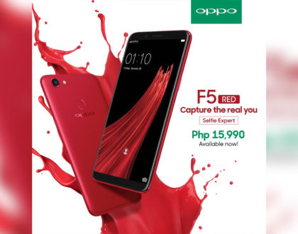 OPPO F5 Now Available in Red!