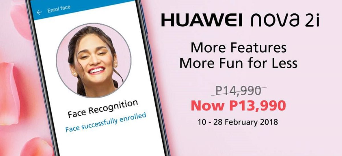 Huawei Nova 2i Now Down to Php13,990 for a Limited Time!