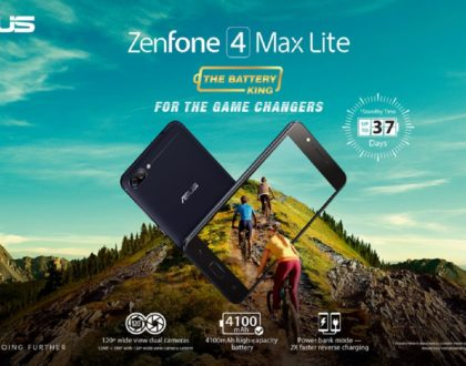 ASUS Launches the Zenfone 4 Max Lite in the Philippines