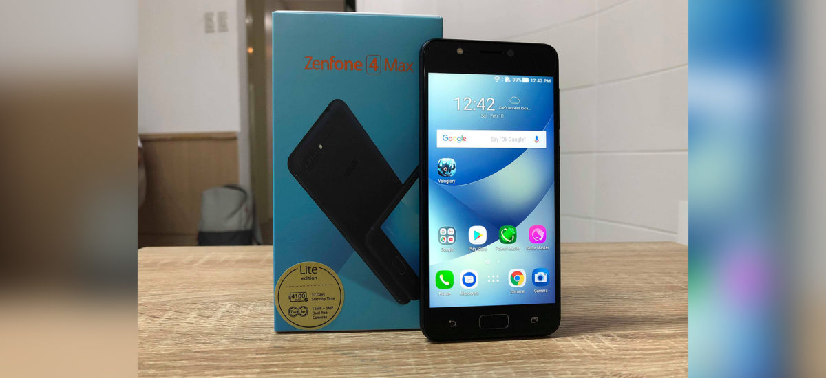 ASUS Zenfone 4 Max Lite Short Hands-On