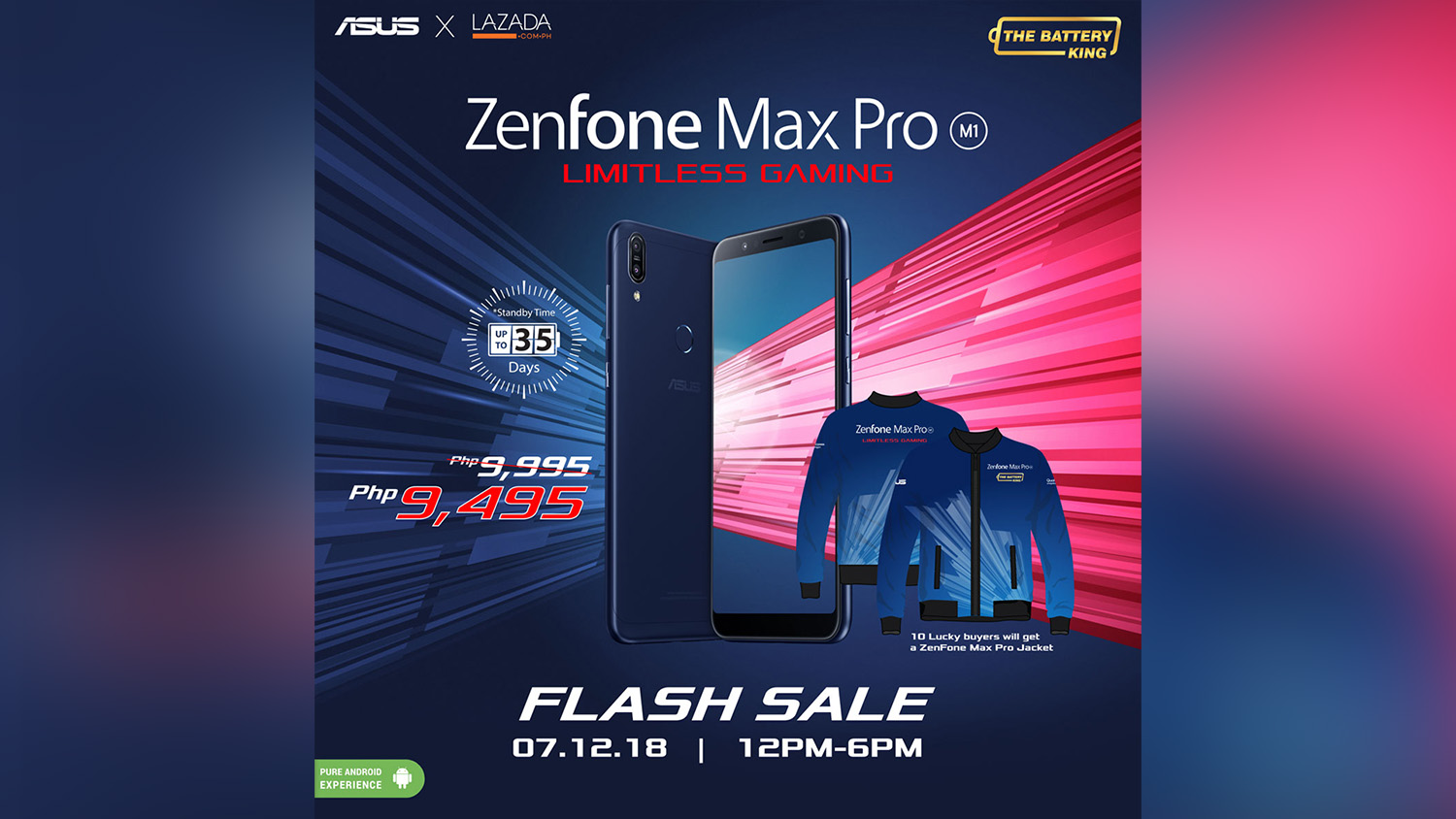 ASUS Zenfone Max Pro M1 Will Be Having A Flash Sale