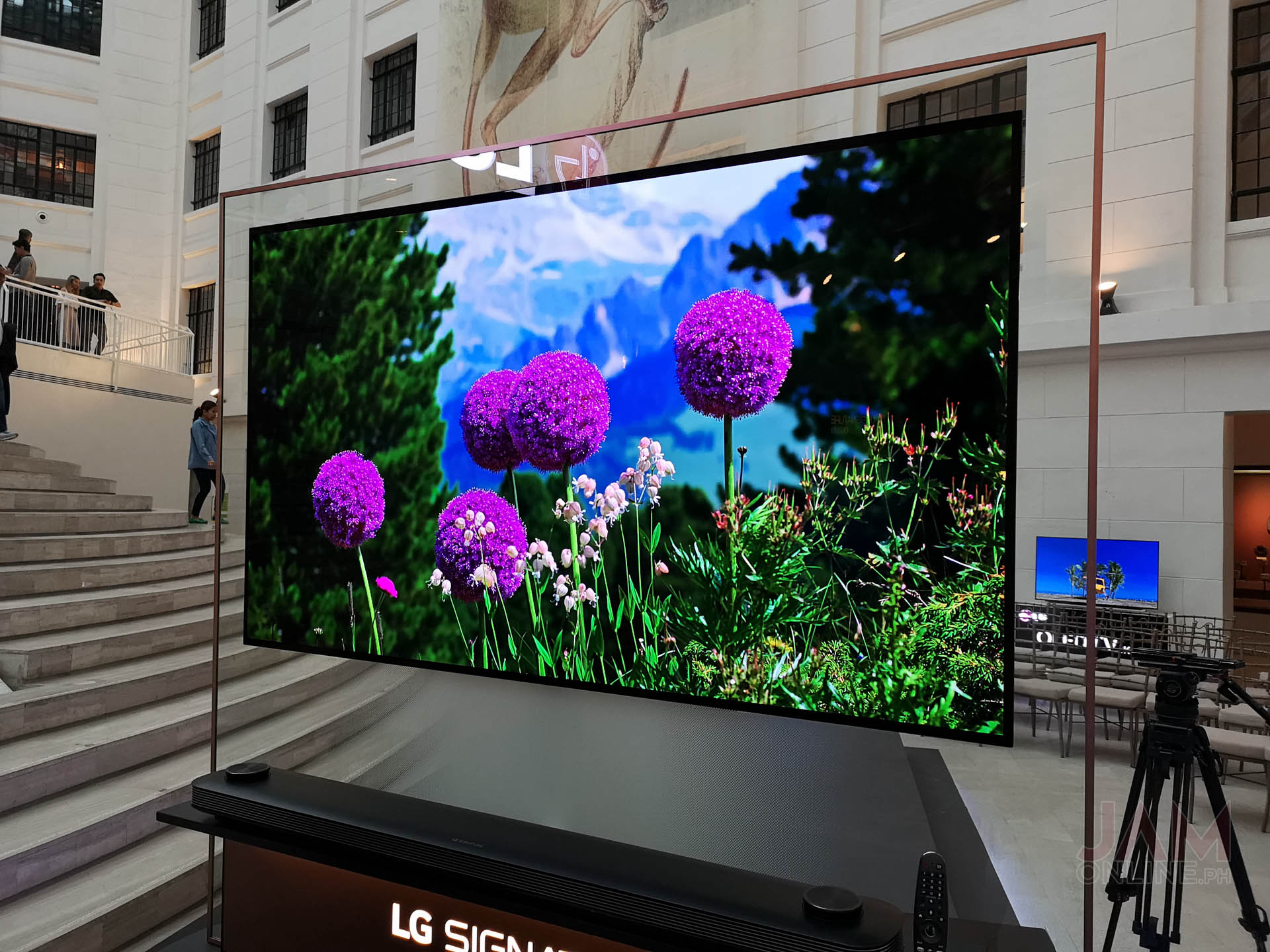 Lg Launches The Oled W Tv In The Philippines Jam Online