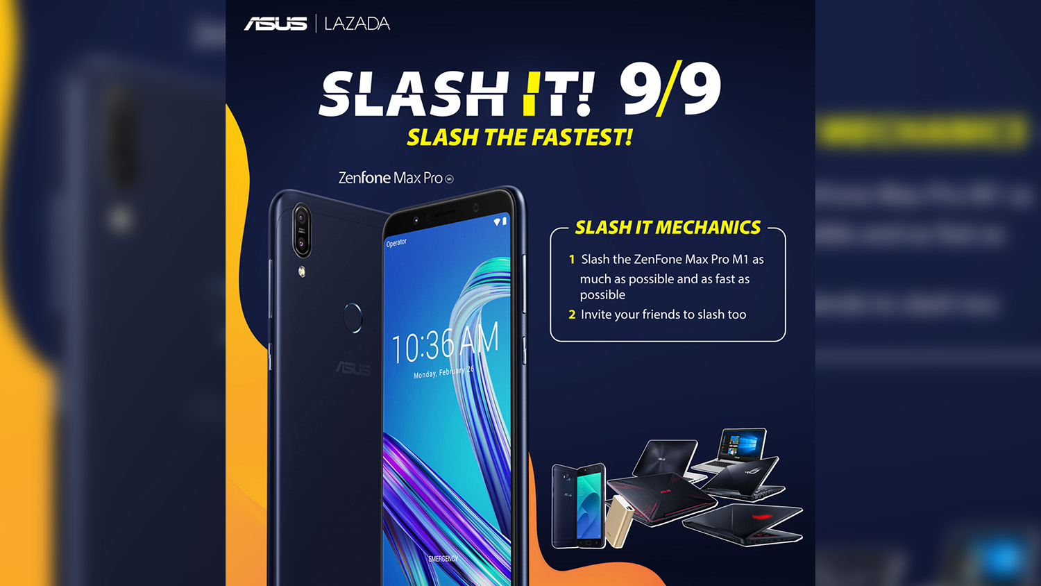 Celebrate Discounts From ASUS At Lazada 9.9 Flash Sale