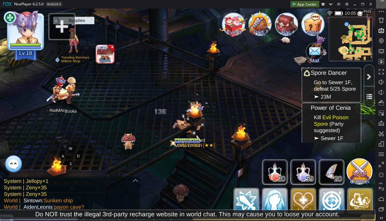 How to Play Ragnarok Online M: Eternal Love on PC using Nox