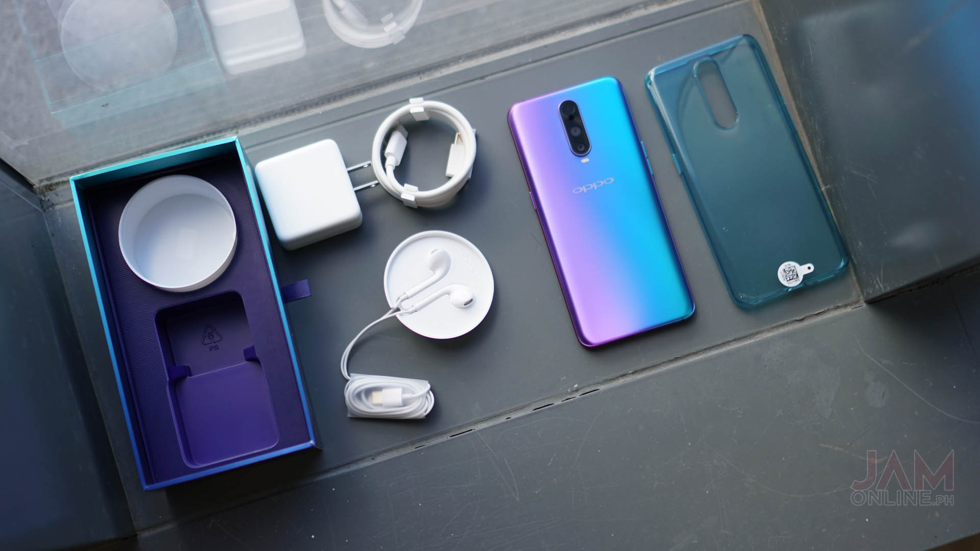 Image result for OPPO R17 PRO box
