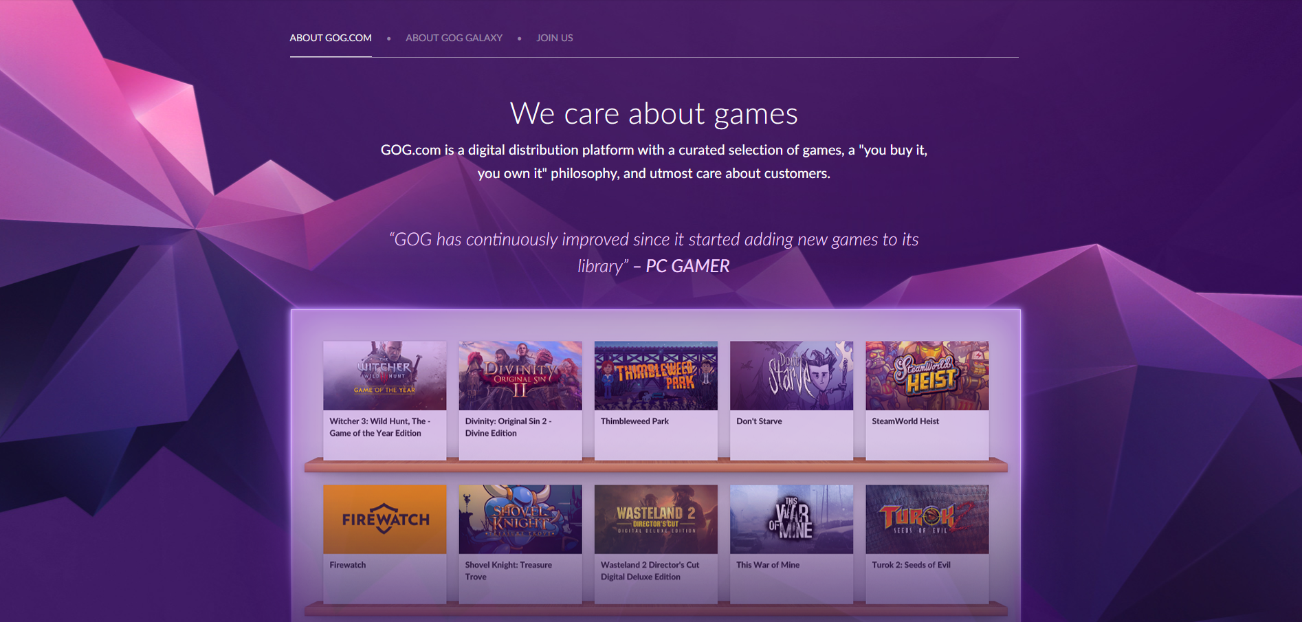 TOP 5 Sites To Buy Games At A Discount -GOG