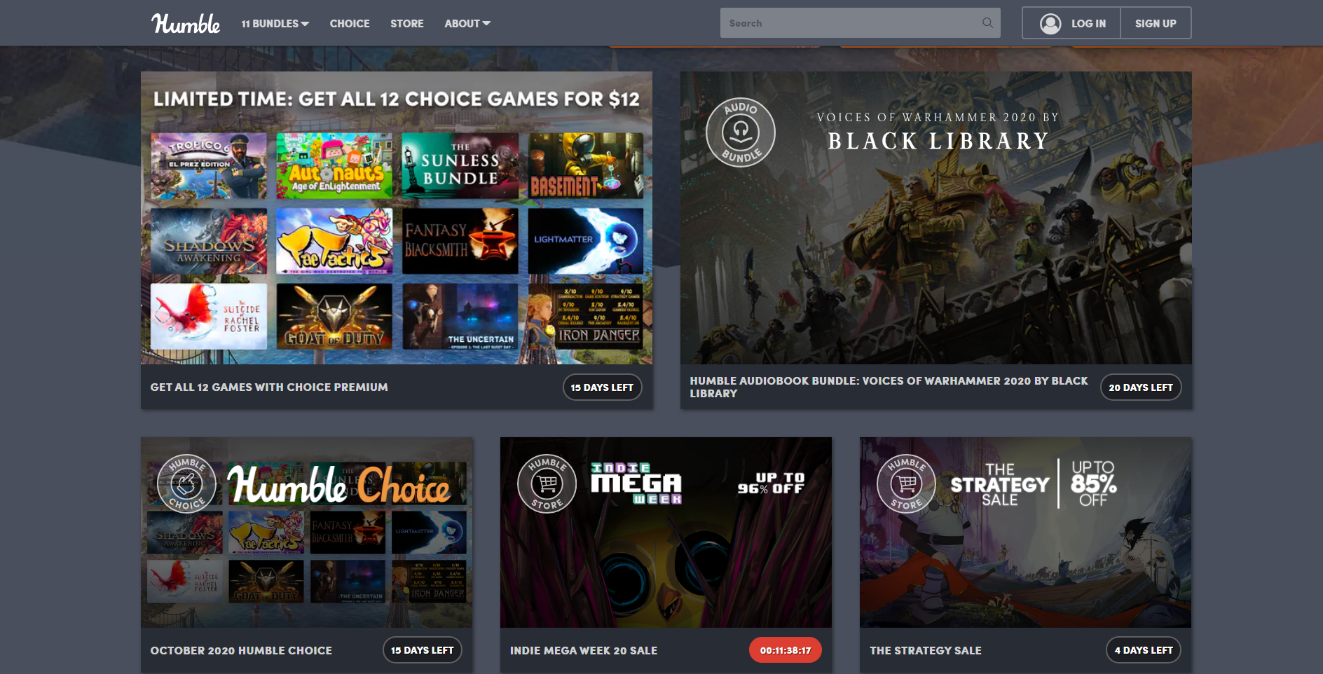TOP 5 Sites To Buy Games At A Discount - Humble Bundle