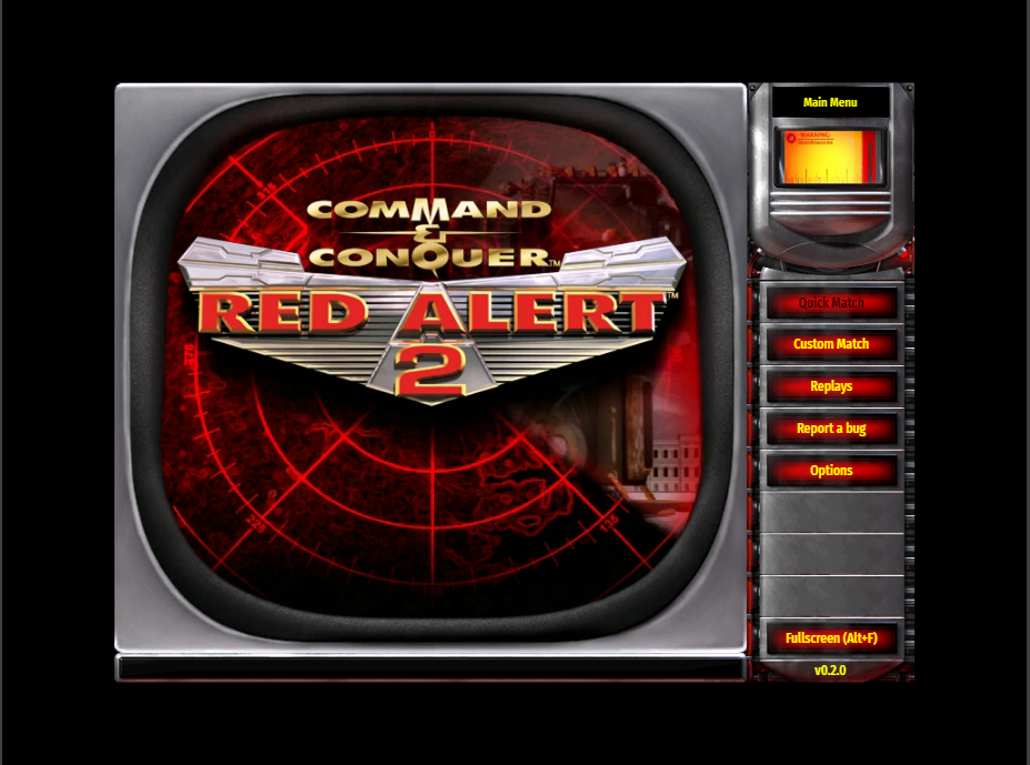 How to play Red Alert 2 on web browser