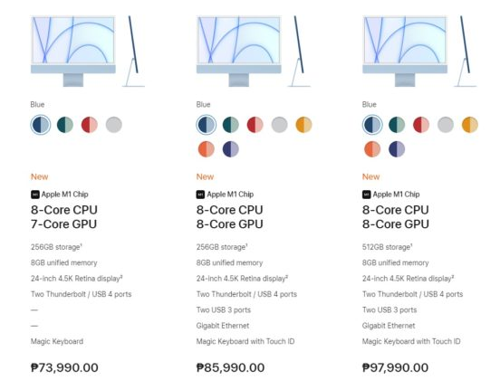 iMac with M1 chip Philippines: Specs, Price ...